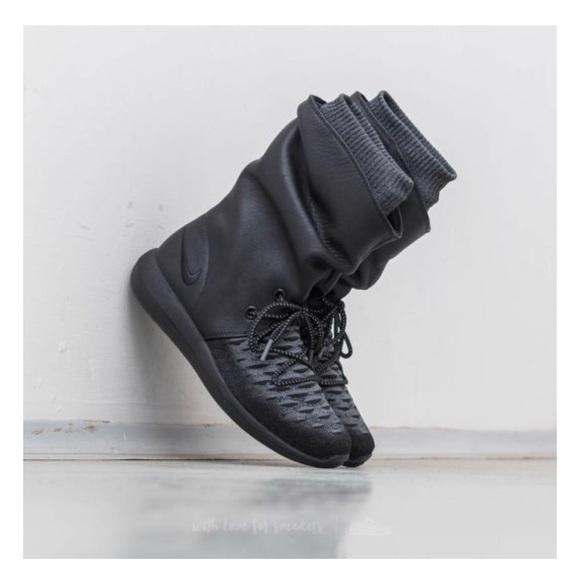 Nike ROSHE TWO HI FLYKNIT 5 Black
